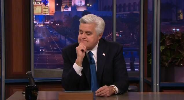 Click here to watch Jay Leno's goodbye on The Tonight Show.
