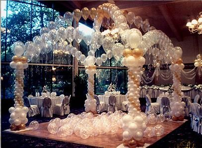 Right! Idea balloon decoration strip seems me