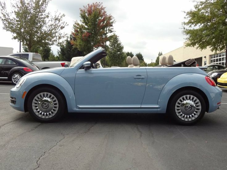 2014 vw beetle convertible light blue - lovin' the new body shape of the vw beetle