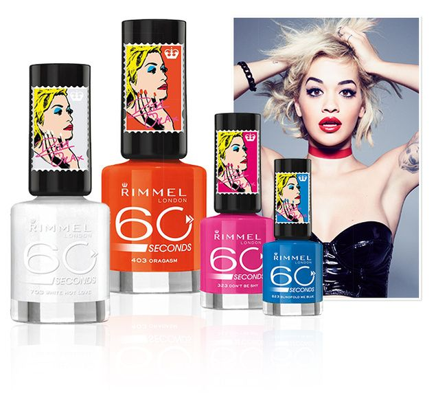She's young. She's vibrant. She's tough. She's talented…She's what London is all about! Introducing the new Colour Rush Nail Collection by the new London chic on the block, Miss Rita Ora. The Nail Collection explodes with bold, bright colours full of energy which truly represents Rita Ora's oh so hot, so cool personality! Get ready …