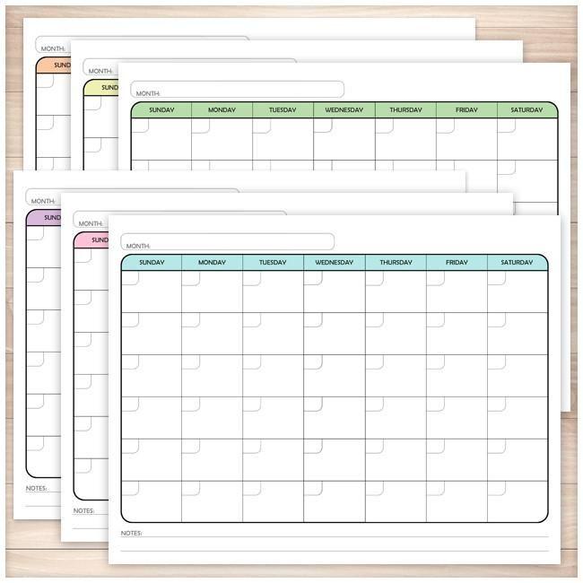 The 25+ best Blank monthly calendar ideas on Pinterest Free - blank monthly calendar template word