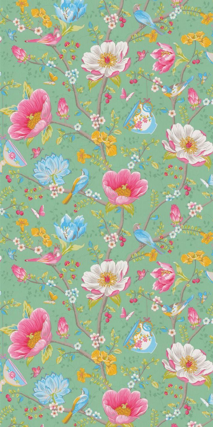 Wonderful Wallpaper Bird Chinese Cffaa3e5cd7f53e0c2c869bad38d85dd Image 45661 Jpg Floral Wallpaper Bird Wallpaper Wallpaper