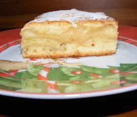 Przepis Świąteczne ciasto zapiekane z cynamonowymi jabłkami i kremem budyniowym przez Maszoperia - Widok przepisu Słodkie wypieki