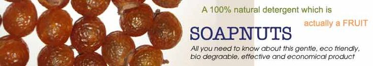 Soapnuts; laundry, dishwasher, liquid soap, cleaning and detoxifying food, cleaning jewellery, natural pesticide, dandruff control.