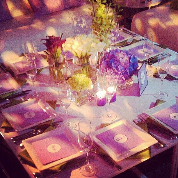 Beautiful table set up at one of our #wedding events - Photo courtest of @vertdegrisBeautiful Tables, Tables Sets, Photos Courtest, Wedding Events, Trump Soho