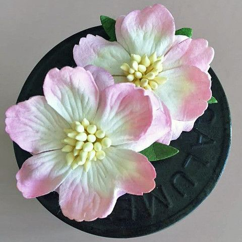 Pink Jasmine Paper Flowers