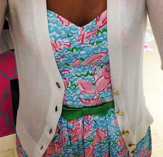 Lilly Pulitzer Ardleigh Dress in Lobstah Roll