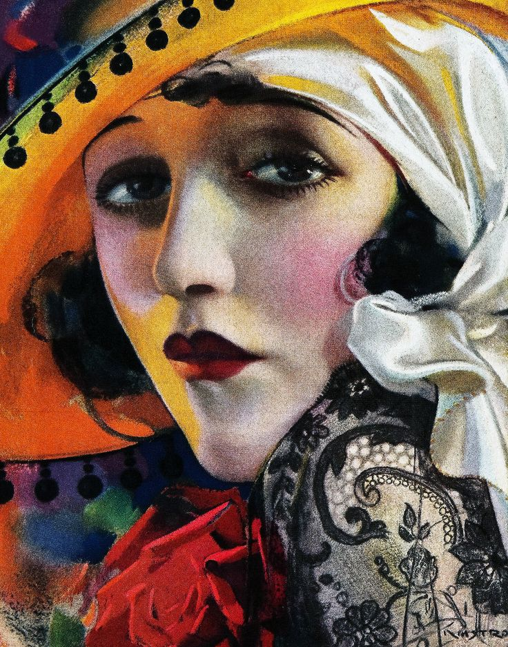 """«Bebe Daniels on the cover of """"Photoplay"""", August 1921»."""