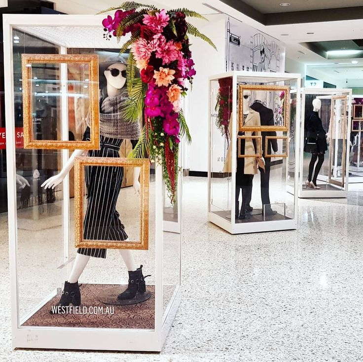 Putting together the fashion styling for @westfieldwoden this Autumn-Winter season has been so delightful! Velvet, sequins, mesh and wool - what a fab season! This is our latest set of looks, including our custom floral cabinet installations.