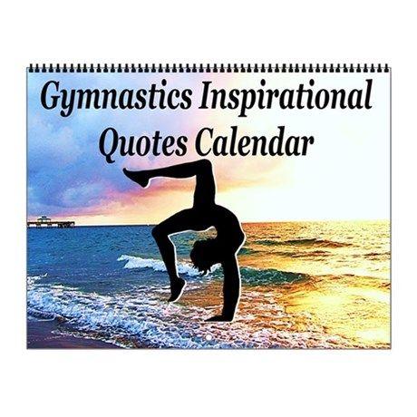 Graceful Gymnast Wall Calendar Inspire your awesome Gymnast to go for gold with our original and motivational Gymnastics Calendars. http://www.cafepress.com/sportsstar/10135150  #Gymnastics #Gymnast #WomensGymnastics #Gymnastgift #Lovegymnastics #Gymnastcalendar #Gymnasticscalendar