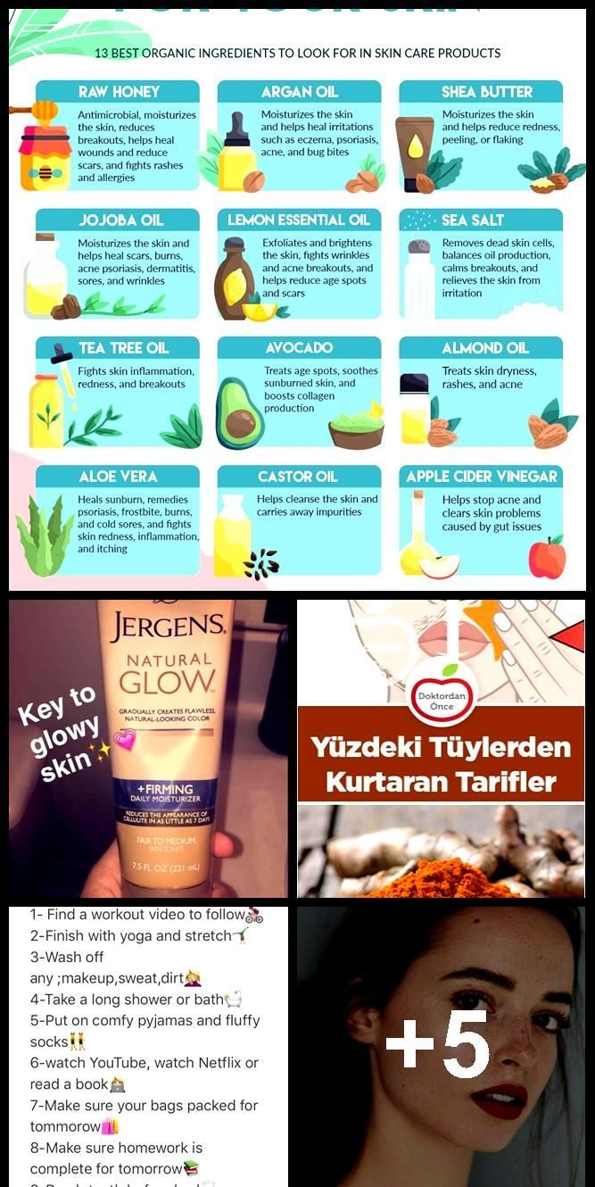 Infographic Skincare Products Best Organic Ingredients To Look For In Skin C Skincareinfographic Infographic Organic Ingredients Skin Care Skin Butter