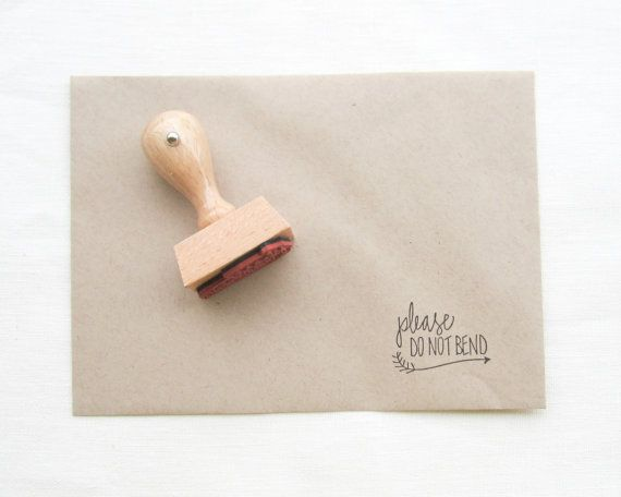 Hey, I found this really awesome Etsy listing at https://www.etsy.com/listing/161176814/please-dont-bend-stamp-please-do-not