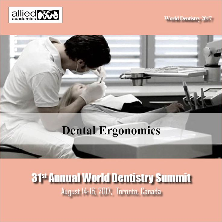 Dental Ergonomics - Dental Ergonomics is the study to define work related #musculoskeletal disorders, risk factors and stressful individual behaviours