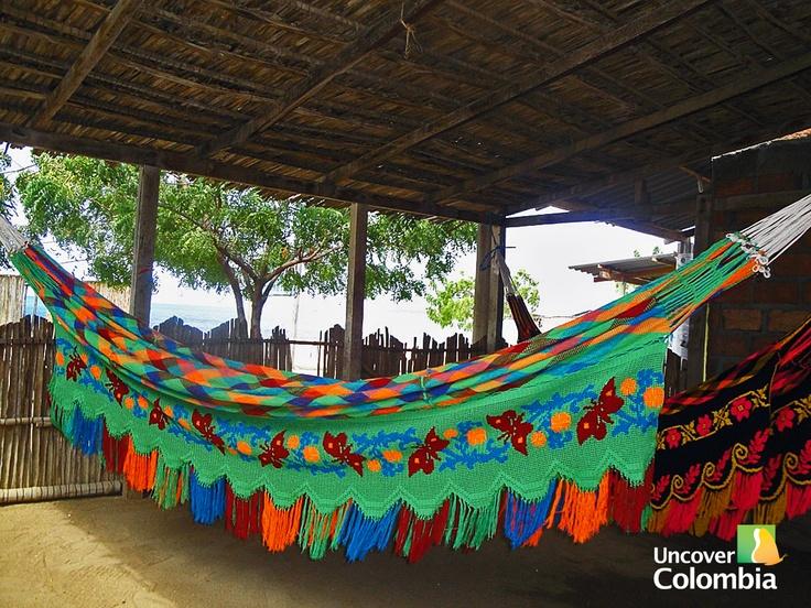 Wayuú hammock - Guajira, Colombia - COLOMBIA! ESTE VERANO