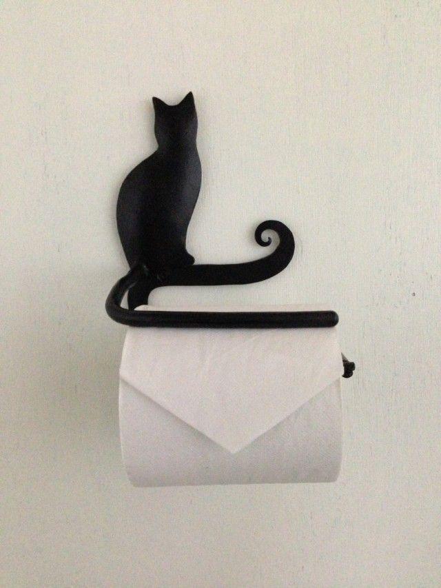 猫のペーパーホルダー   iichi(いいち) 