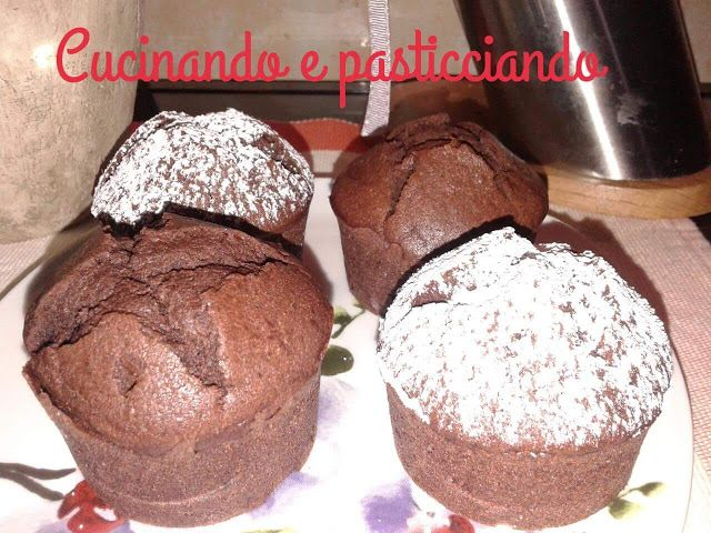 Cucinando e Pasticciando: Muffin di albumi al cioccolato