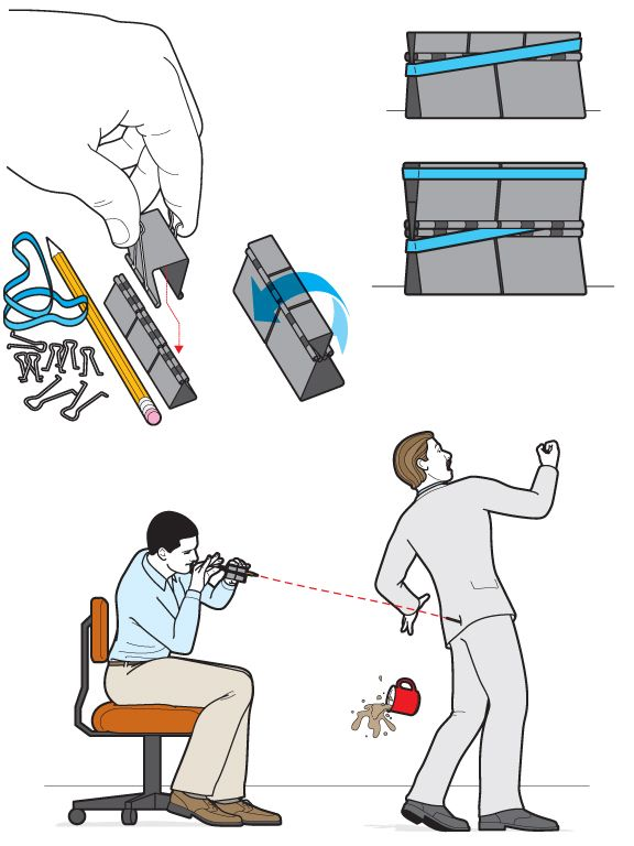 OfficeSupplyGunChrisPhilpot technical illustration