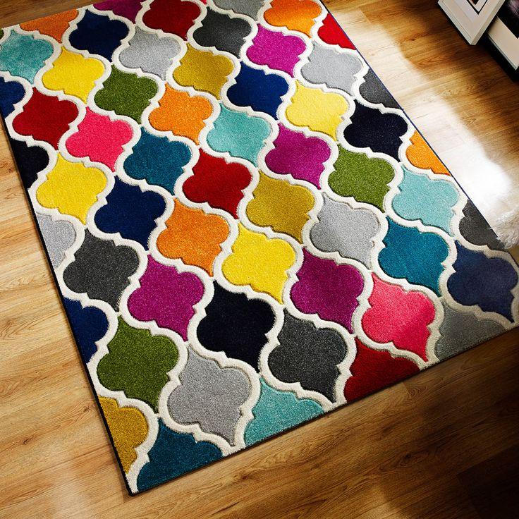 Spectrum Limbo Multicoloured Rugs