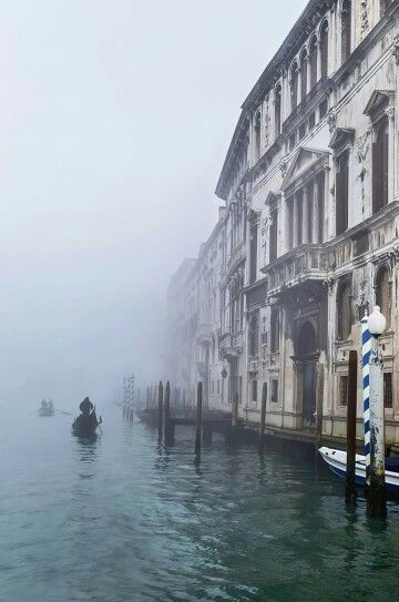 Winter in Venice, Italy.