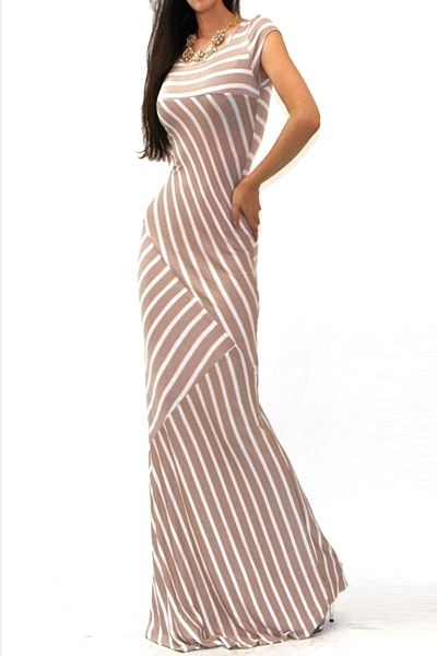 Fancy Mixed Stripes Maxi Dress AUD$38.52 + free shipping. Enjoy 25% OFF this Easter... Use code: Fashion25UCB