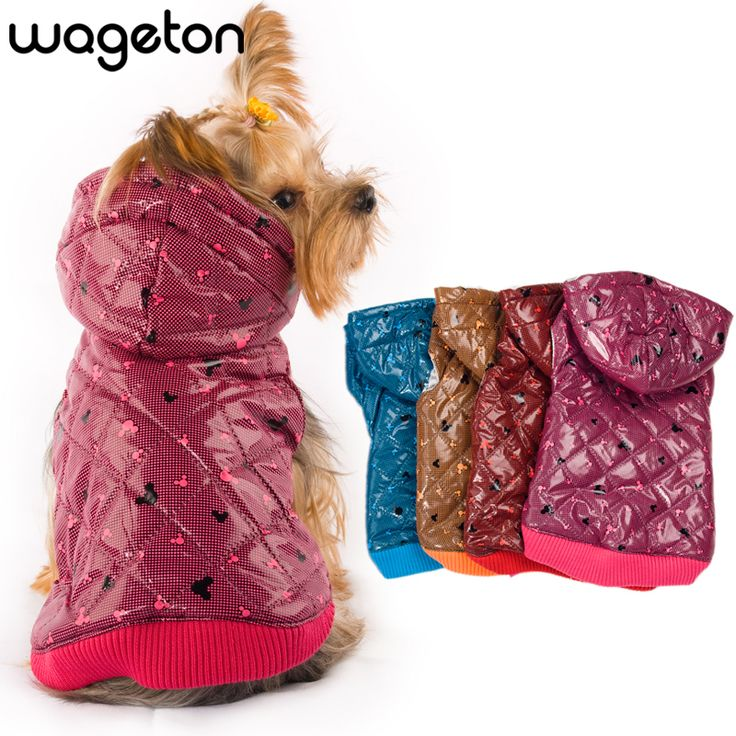BUY now 4 XMAS n NY. Free shipping! WAGETON fashion dog clothes Hot sale!  Wholesale and Retail designer pet clothing -5 colors ~ Shop 4 Xmas n 2018. Just click the VISIT button for detailed description on  AliExpress.com.