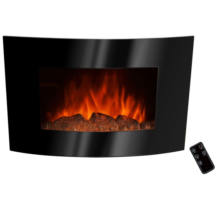Plug This Beautiful Electric Heater Into Any Standard Outlet To Enjoy A  Realistic Looking Flame