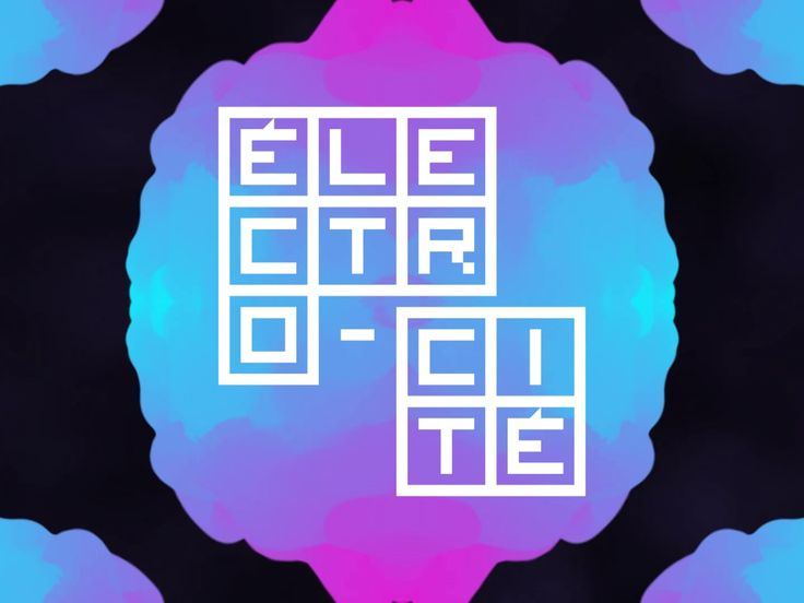 Électro-cité - An interactive musical experience which allows to create a music track in a similar way to electronic producers but with music-responsive shapes