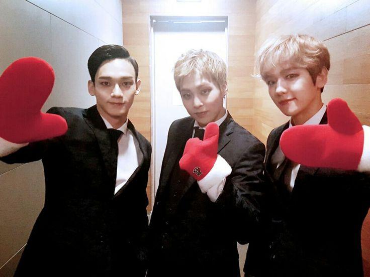 #exo #Chen #Baekhyun #Xiumin #exo_m #korean #korea #cute #exo_k