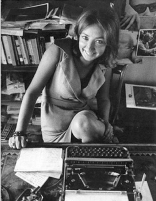Una stupenda Oriana nel servizio di Ugo Mulas (4) - Foto - Oriana Fallaci