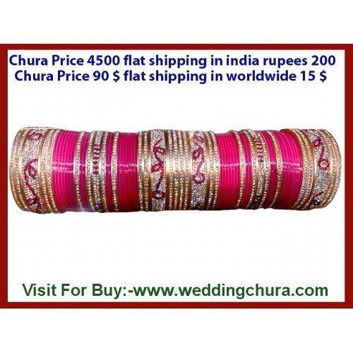Shadi nazdeek ho to tension ho jati hai so no need to tension? Every bridal accessories is available jaise ki bridal lehenga chaiye, phir matching chura chaiye then always remember www.weddingchura.com .