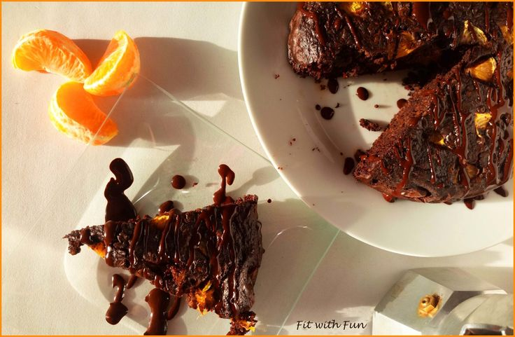 Torta di Porridge al Caffè e Mandarino con Triplo Cioccolato: occorre solo una ciotola. Gusto e Aroma intenso e indimenticabile in sole 100 calorie!