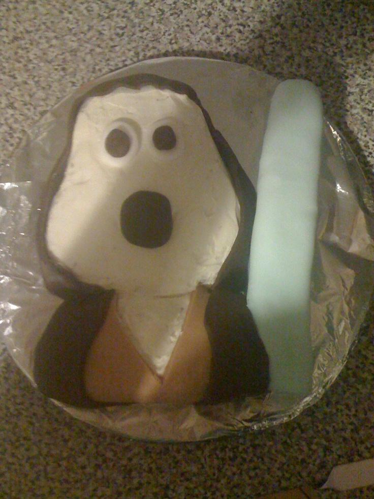 Luke's Jedi grommet birthday cake.