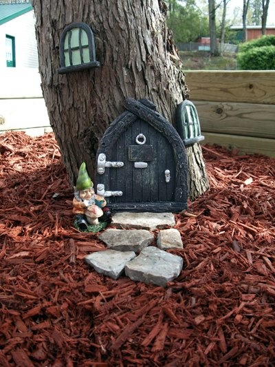 Gnome House #gnomes #house #tree