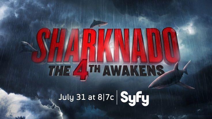 SyFy Reveals Sharknado 4 Details - http://www.goldenstatehaunts.org/2016/04/03/syfy-reveals-sharknado-4-details/