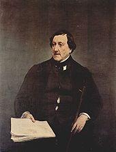 Gioachino Rossini http://en.wikipedia.org/wiki/Gioachino_Rossini