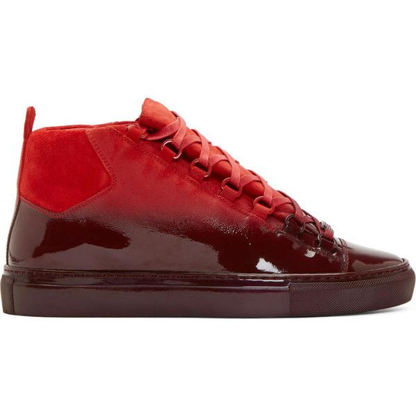25 best ideas about red balenciaga sneakers on pinterest