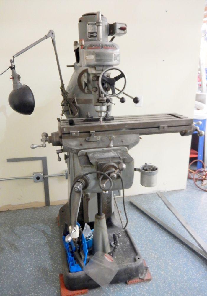 "Bridgeport Vertical Milling Machine Series 1 B1 1150  9"" x 32"" Table"