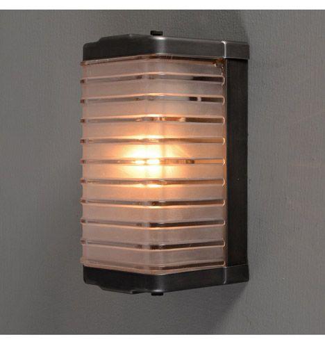 "Progress Mid-Century Flush ""Loaf Pan"" Porch Light, c1955 via Rejuvenation $235"