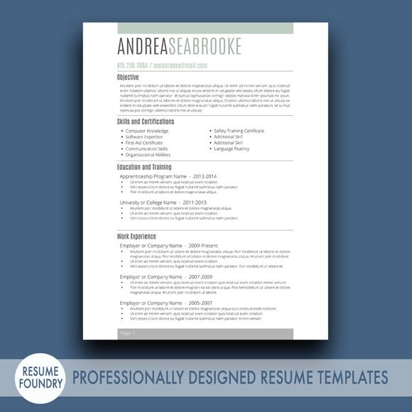 Best 25+ Student resume template ideas on Pinterest Cv template - college student resume templates microsoft resume
