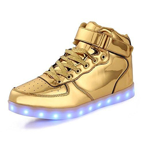 huge selection of f757b 0bfc1 Toddler Little Big Kids Boy Girl USB Flashing LED Light Shoes Sneaker  Jintx34