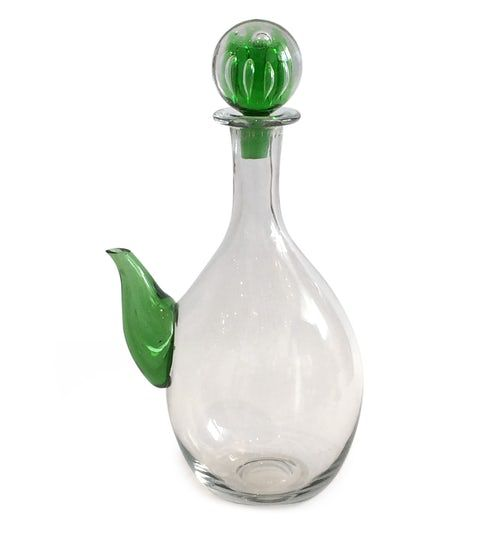 0079  Blenko Spouted Decanter  MidCentury Modern, Glass, Decorative Object by Dwm  Maloos