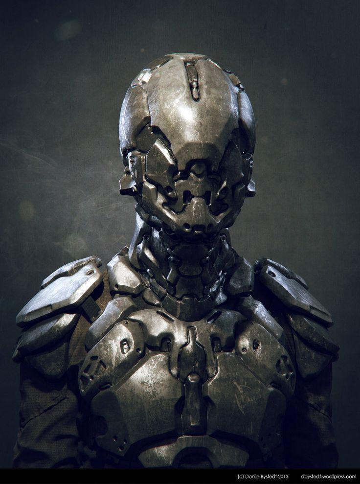Sci-fi armor main, Daniel Bystedt on ArtStation at https://www.artstation.com/artwork/sci-fi-armor-main