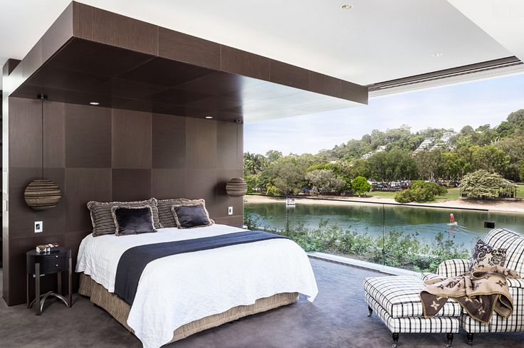 Tropical Bedroom Interior Design in Sunshine Coast