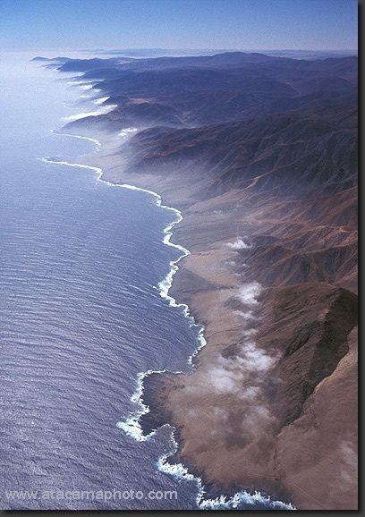 Desierto de Atacama, foto aerea
