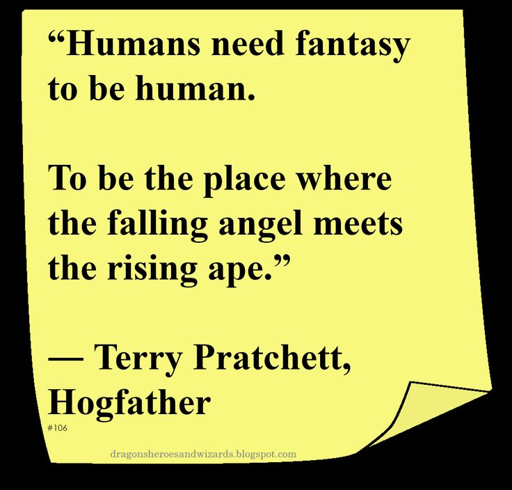 ♥ Terry Pratchett ♥ ~ #Quote #Author #Fantasy
