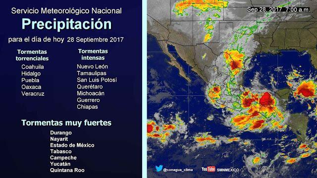 Periodismo sin Censura: Pronóstico Meteorológico General 28 de Septiembre ...