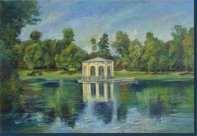 Les 402 meilleures images du tableau art pictural sur - Paysagiste fontainebleau ...