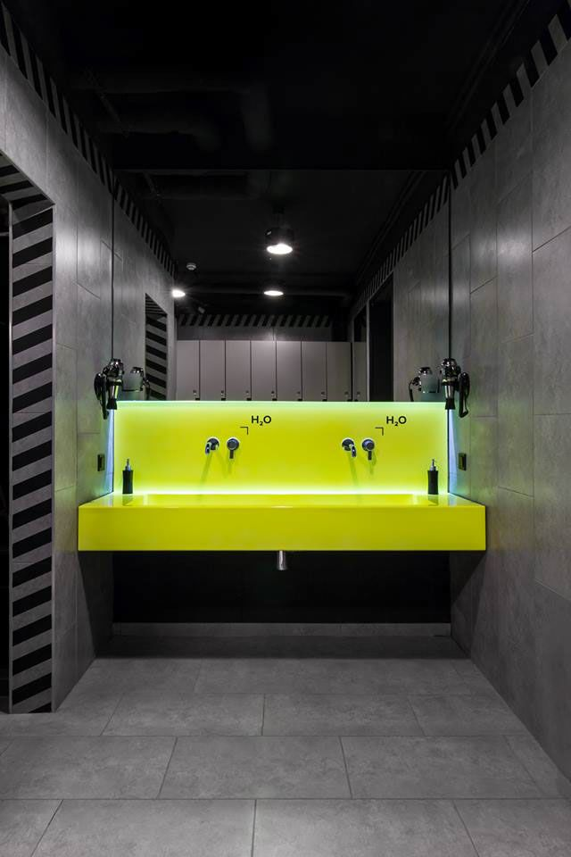 Turkcell maltepe plaza by mimaristudio in istanbul this bathroom - 47 Best Commercial Restrooms Locker Rooms Images On
