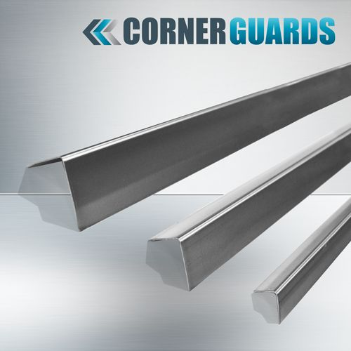 We offer stainless steel corner guard that protects your corners with attractive look and affordable cost.    Buy now - http://bit.ly/2hMP247