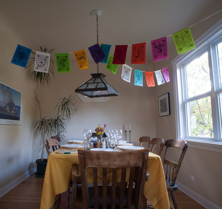 Decorated inside with a splash of colour by adding www.earthflags.ca.